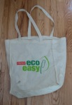 Well-loved Staples eco-easy bag