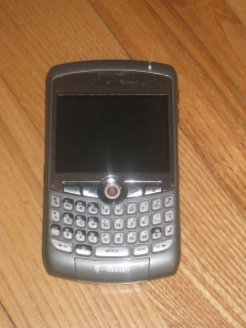 My Smartphone - Blackberry Curve